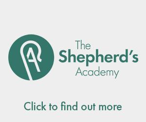 The Shepherd's Academy banner